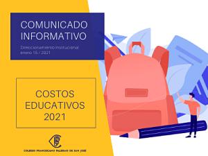 Costos educativos 2021