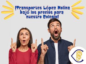 Nuevas tarifas 2021 transportes López Molina