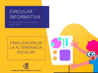 Comunicado inicio presencialidad segundo semestre 2021